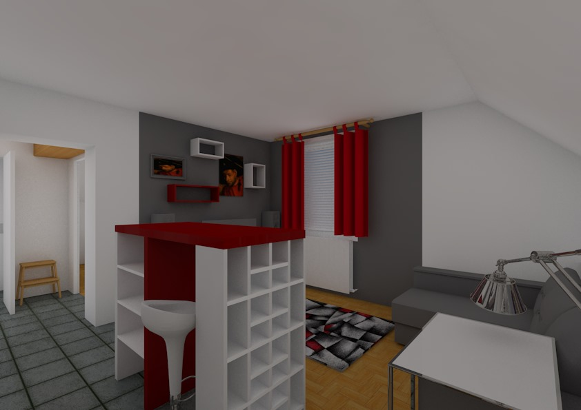 Entwurf Wohnung – Bild7