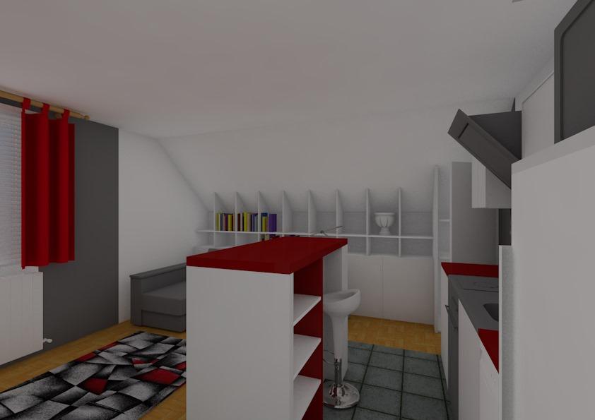 Entwurf Wohnung – Bild8