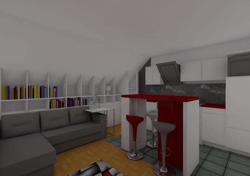Entwurf Wohnung – Bild9